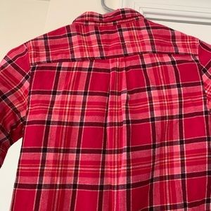lands end kids Shirts & Tops - Lands End Girls Flannel Size 10